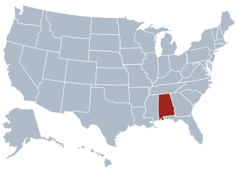 Alabama Prisons Location