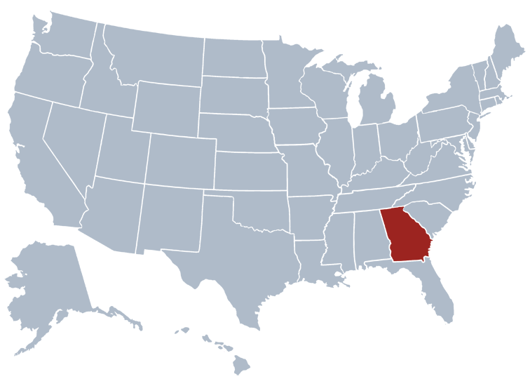 Georgia Prisons Location
