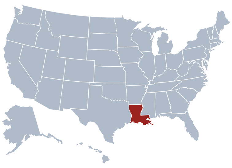 Louisiana Prisons Location