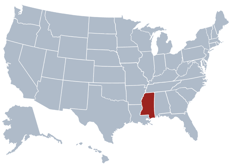 Mississippi Prisons Location
