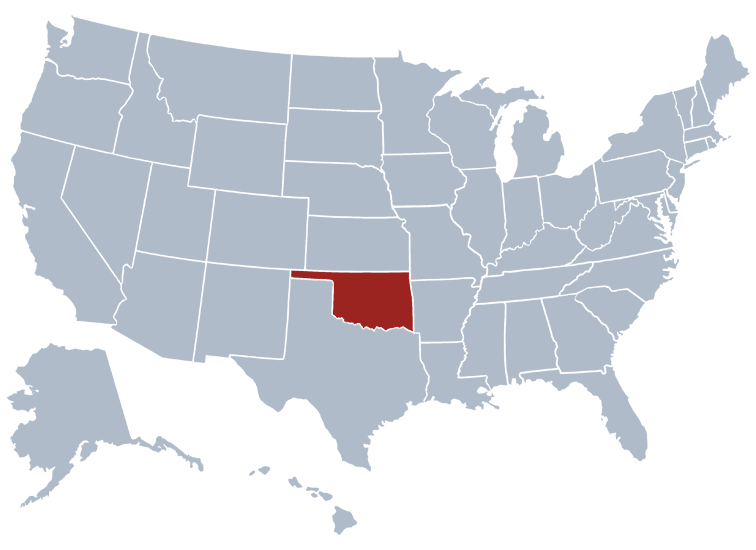 Oklahoma Prisons Location