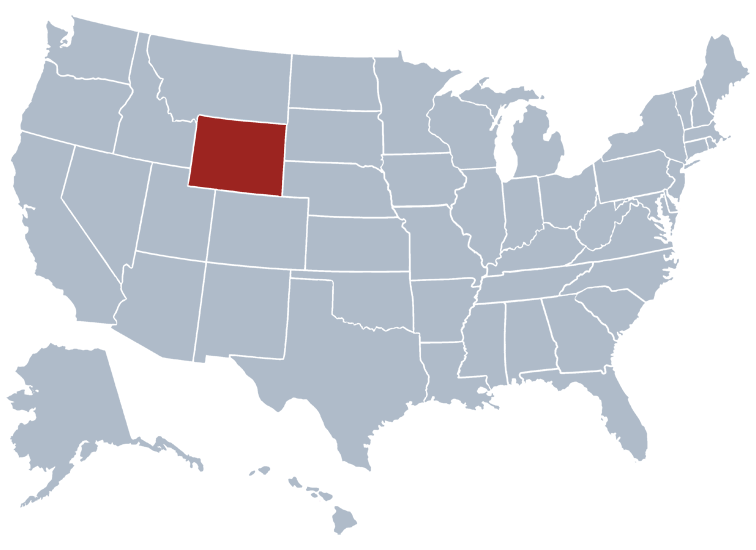 Wyoming Prisons Location