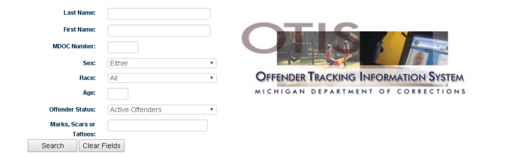 Michigan Department of Corrections (DOC) Website