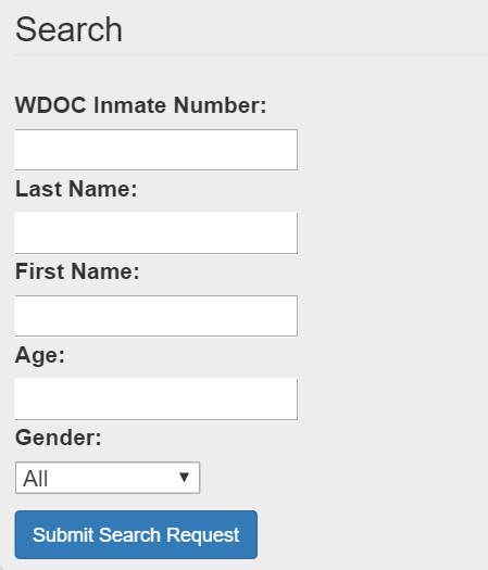Wyoming Department of Corrections (DOC) Website